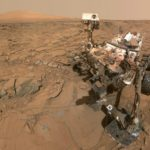 "The Curiosity Mars rover took this 'selfie'on the surface of Mars on May 11, 2016, before it began traversing part of the Red Planet that research scientists have named ""Bar Harbor"" and which has several features named after places in the Pine Tree State."