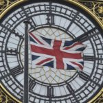 The British Union flag is seen flying in front of the Big Ben clocktower at the Houses of Parliament in London, Britain, Jan. 18, 2016.