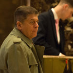 Andrew Napolitano arrives to Trump Tower on Jan. 17, 2017 in New York City.