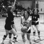 Hampden's Cindy Rand (30), pictured during an Eastern Maine semifinal game against Presque Isle in 1980, was a member of the BDN's inaugural All-Maine Schoolgirl Basketball Team in 1977.