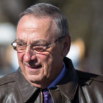 Governor Paul LePage pardoned a dog sentenced to death.