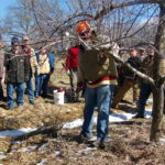 The Piscataquis County Soil and Water Conservation District held a fruit tree pruning workshop at the Tudor Farm in Dover-Foxcroft, March 2016.