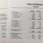Town of Madawaska Budget Documents for proposal at April 3 Board meeting