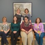 PHOTO: Back, left to right: Peyton Hebert, LSW; Andrea Daigle, LMSW-CC Seated at front, left to right: Melissa Cyr, LSW-C; Andrea Dumond, LSW-C; Crystal Hughes, LSW; Patty Fournier, LSW