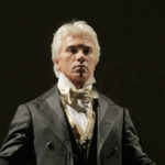 "Dmitri Hvorostovsky in the title role of Tchaikovsky's ""Eugene Onegin."" Photo: Ken Howard/Metropolitan Opera"