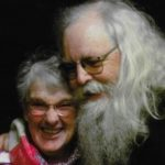 Gary Lawless with Spindleworks artist Nancy Basset