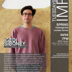 Construction and Debris: Gedi Sibony to present work as a part of Tuesdays at the IMRC