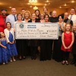 At their 5th Gala Event, Brewer Kiwanis Club presented a check for $42,000 to Make-A-Wish of Maine. Contributed photo.