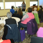 Lucy Richard, the provider at TAMC's Women's Health Center, speaks to participants at last year's County Women's Health Conference. TAMC and Maine Agri-Women are planning the second annual County Women's Health Conference on Saturday, April 8.