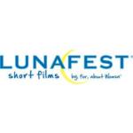 """The logo for """"Lunafest 2017."""""""