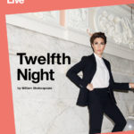 """The poster for the National Theatre """"NT Live"""" production of """"Twelfth Night."""""""