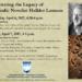 Celebrating the Legacy of Icelandic Novelist Halldor Laxness event poster.
