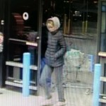 Police are looking for information about this woman, who they say robbed the Wal-Mart store Monday night.