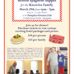 Benefit Supper for Knowles Family