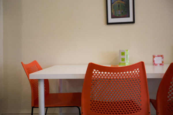 A desk at CoVort co-working space in Bangor. From 2011 to 2015, Maine lost more than 1,800 workers under the age of 26 and had a net loss of about 667 workers under the age of 65, according to IRS statistics.