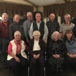 Front row, left to right: Theresa St. Pierre, Lucille Paradis (Edgar's mom), Francois Paradis, Liz Paradis Second row, left to right: Jacqueline Paradis, Michael Paradis, Roland Paradis, Robert Paradis, Gerard Paradis, Lloyd Paradis, Danny Paradis, Susan Morin