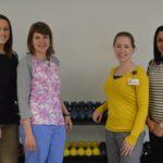 PHOTO left to right: Shantelle Guimond, Leslie Labonte, Sarah Levesque, Kelly Lausier
