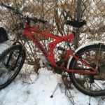 Local police are asking the public for help identifying a man found deceased early Monday in a burned tent within a homeless encampment near Exit 4 of Interstate-295, and have released this photo of the bike he apparently used.