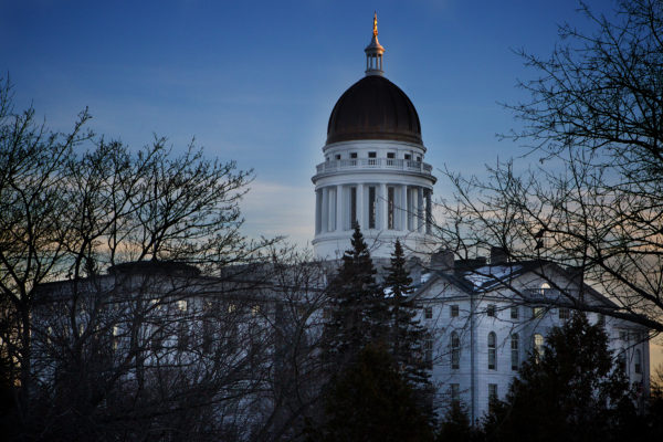 The Maine State House is pictured in January 2016.