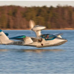 The Atol 650, a new high-performance amphibious aircraft with folding wings, will be produced for the U.S. market at Brunswick Landing, according to a release from Atol USA Inc.