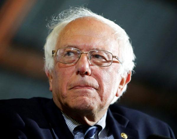 U.S. Democratic presidential candidate Bernie Sanders addresses supporters in Santa Monica, California, U.S., June 7, 2016.