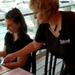 Maine first lady Ann LePage worked as a waitress at McSeagull's in Boothbay Harbor last summer.