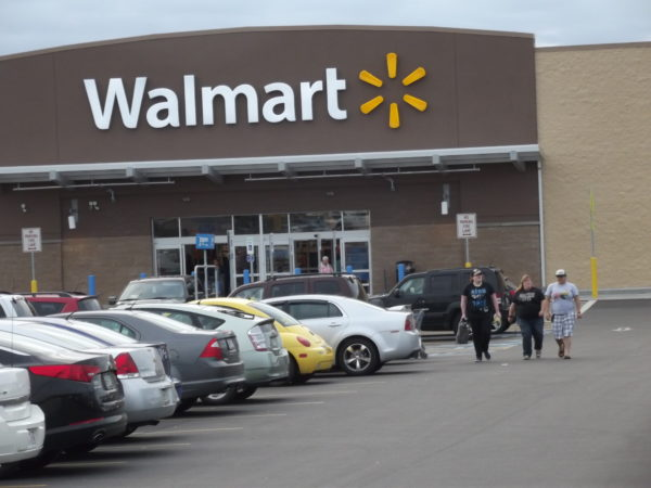 A Wal-Mart store is seen in Calais, June 6, 2014.