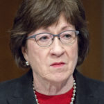 Sen. Susan Collins (R-Maine) on Capitol Hill in Washington, D.C., on March 22, 2017. President Donald Trump is proposing overhauls in the aviation industry that do not sit well with Collins and other lawmakers from rural states.