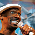 Actor Charlie Murphy makes an appearance inside the Sony Style Plaza the night of the release of the Playstation 3 console in New York City November 16, 2006.