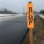 A sure sign of spring in Maine is the annual appearance of bump or frost heave warning signs.
