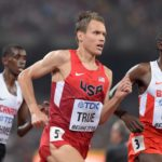 North Yarmouth native Ben True (USA) places sixth in the 5,000 meters in 13:54.07 during the IAAF World Championships in Athletics at National Stadium in Beijing, China, in 2015.