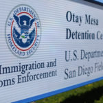 A sign for the U.S. Customs and Immigration Otay Mesa Detention facility is shown in Otay Mesa, California, U.S., March 28, 2017.