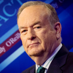 Fox News Channel host Bill O'Reilly poses on the set of his show &quotThe O'Reilly Factor&quot in New York, March 17, 2015.