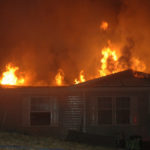 Jefferson Fire Chief Walter Morris said a home on South Clary Road was likely a total loss following two fires Sunday.