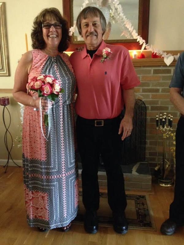 Diane Doucette and Ray Pillsbury were married April 15 at their home in Milford. They discarded plans for a larger wedding following a death in the family and are honeymooning in Florida.