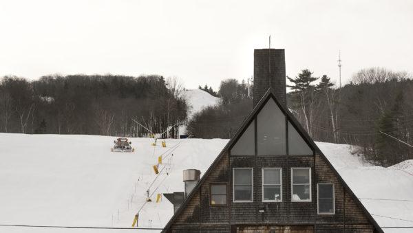 The ski lodge at Camden Snow Bowl in Camden.