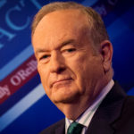 """Fox News Channel host Bill O'Reilly poses on the set of his show """"The O'Reilly Factor."""""""