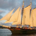 Historic wooden schooner returns to Maine