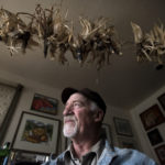 NORRIGEWOCK, MAINE  -- 04/18/2017 -- Albie Barden of Norrigewock is among the few people who call themselves cornkeepers. He has been preserving and trying to bring back native strains of flint corn that were grown in many Maine and New England regions by Native Americans. Barden has grown and disributed seeds from roughly 12 strains of flint corn over the years.