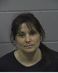 Cindy McVicar, 45, of Lincoln, was arrested Friday, April 21 for allegedly hindering the investigation into the Easter slaying of Terrance Durel, who was shot near 125 Ohio St.