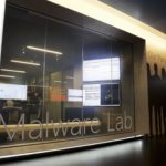A malware lab is pictured inside the Microsoft Cybercrime Center in Redmond, Washington, Nov. 11, 2013.