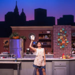 "Michelle Damato plays Giulia in Penobscot Theatre Company's production of ""I Loved, I Lost, I Made Spaghetti."""