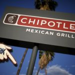 A Chipotle Mexican Grill in Los Angeles.