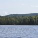Bald Mountain seen in September 2016 from nearby Carr Pond, in the North Maine Woods 10 miles west of Portage. Earning its name when it was logged in the 1970s, the 1,526-foot mountain holds deposits of copper, gold, silver and other minerals.