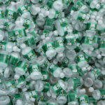 A pile of Poland Spring water bottles. The company is again at odds with Maine residents over local water access.