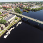 This aerial photo shows Bangor and the Penobscot River on a clear summer day in 2014. An air quality study by the American Lung Association released in April ranked Bangor among the cleanest cities in the country.