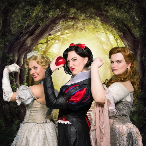 DISENCHANTED!, the hit musical,  will be at Husson University's Gracie Theatre on Saturday, April 22, 2017 with performances at 5 p.m. and 8 p.m. This musical is the final show in the 2016 – 2017 Bangor Savings Bank season. The two performances are sponsored by the Dead River Company and promise to give fairy tales a completely new meaning.