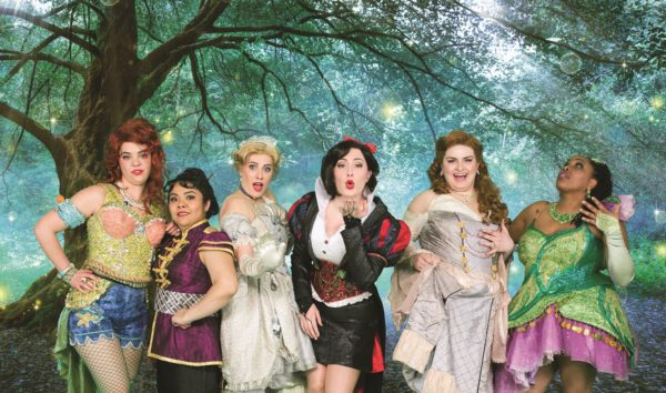 """During the New York engagement, the production defied the trend for Off-Broadway shows with its sold-out performances and critical acclaim. NBC New York called the show """"funny, irreverent, and great fun! The seriously talented cast of six strong, hysterical women give fairy tales a new meaning!"""""""