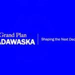 Grand Plan Madawaska Logo designed by local artist Daniel Picard