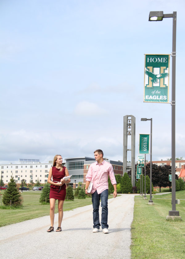 Husson University is located on a beautiful 208-acre campus in Bangor, Maine.  The university is the lowest net-priced, private four-year college in Maine accredited by the New England Association of Schools and Colleges.